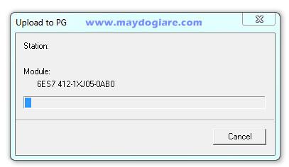 Upload chương trình từ PLC S7 400 về PG