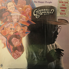 THE CANNONBALL ADDERLEY QUINTET:THE HAPPY PEOPLE(JACKET A)