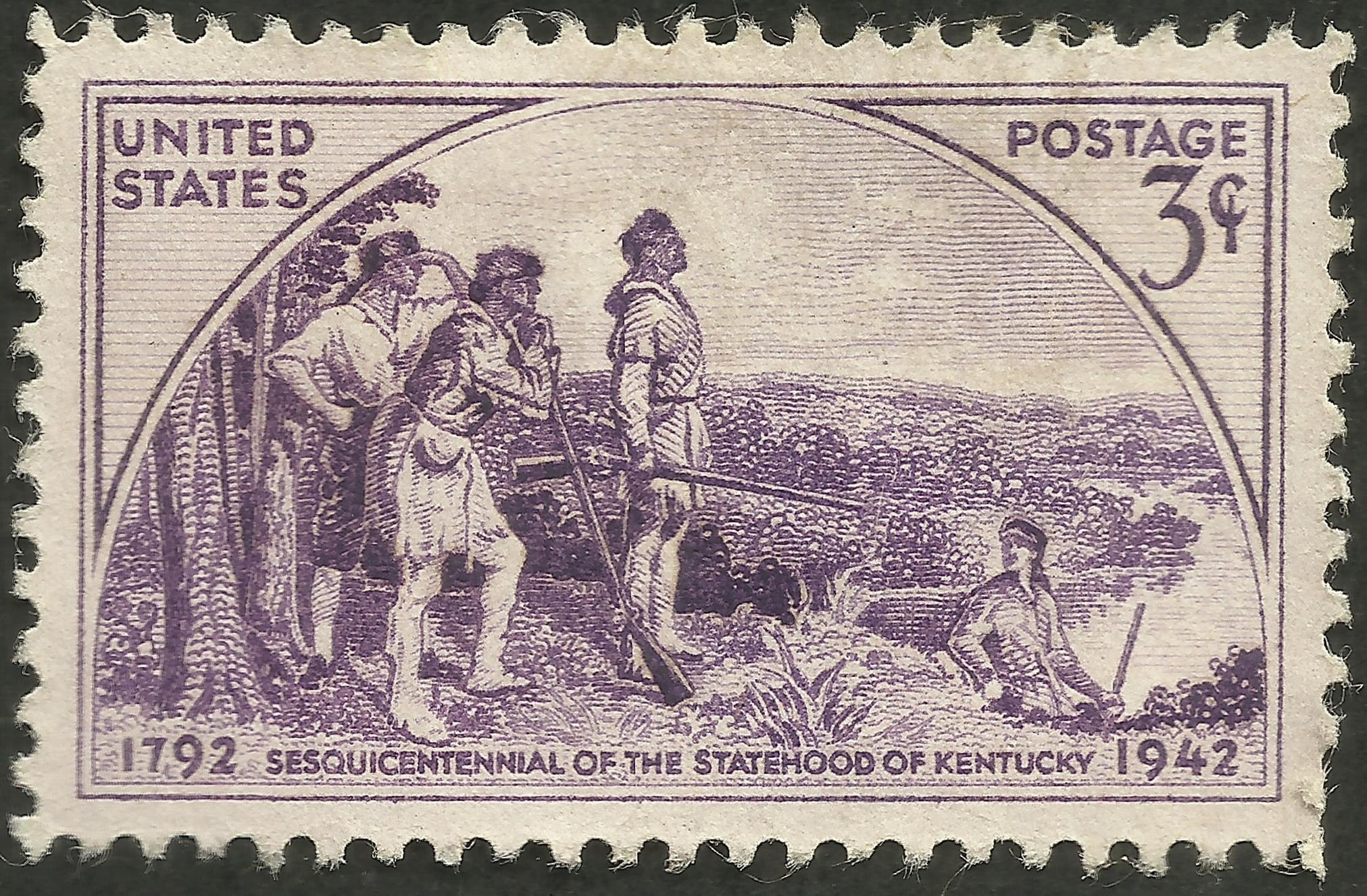 United States - Scott #904 (1942) lighter violet shade