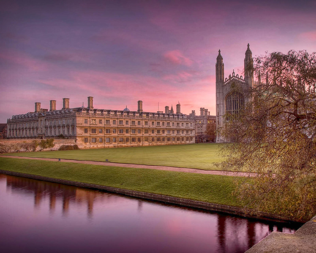 View from the Backs to Clare College and King's Chapel. Credit Alex Brown, flickr