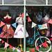 Window display at 'The Dressmaker'