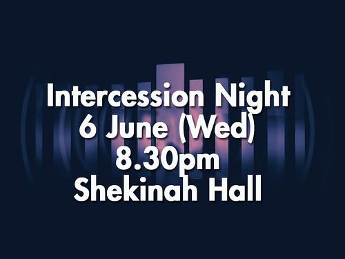 intercession night june6