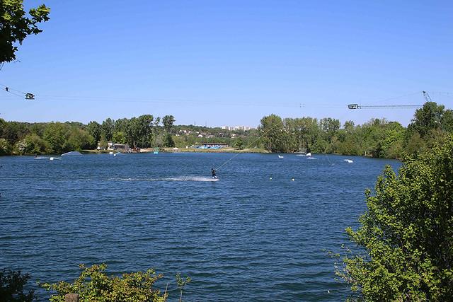 L' île de loisirs de Cergy-Pontoise