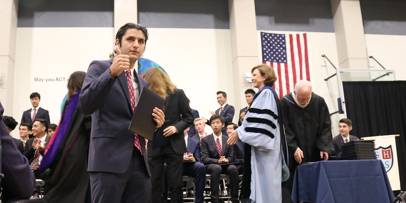 Stuart Hall High School Graduation 2018