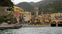 arriving in Monterosso