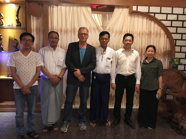 Myanmar and ILRI meetings seek to cement cooperation in livestock development, 25-27 April 2018