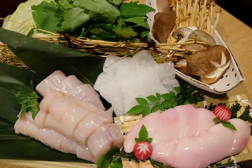 特製てっちり鍋 Pufferfish hot pot