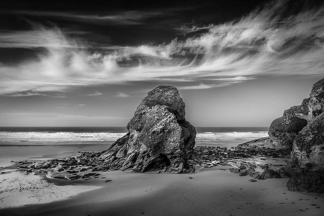 Black Humphrey Rock, Whipsiderry Beach