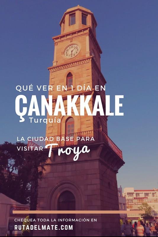 Como llegar a Troya desde Canakkale