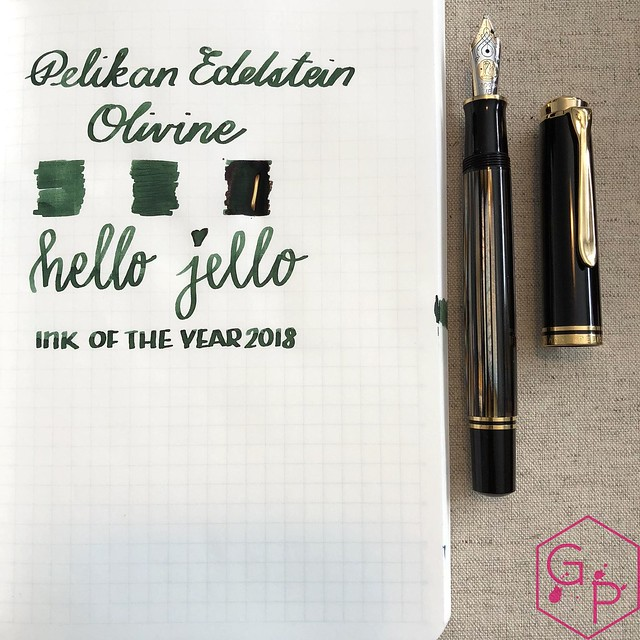 Pelikan Edelstein Olivine Ink Review @AppelboomLaren @Pelikan_World 23