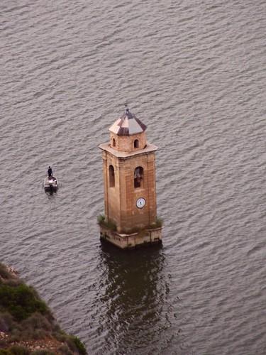 Fishing around the bell tower