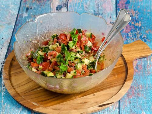 Tomaten-Gurken-Salat (2)