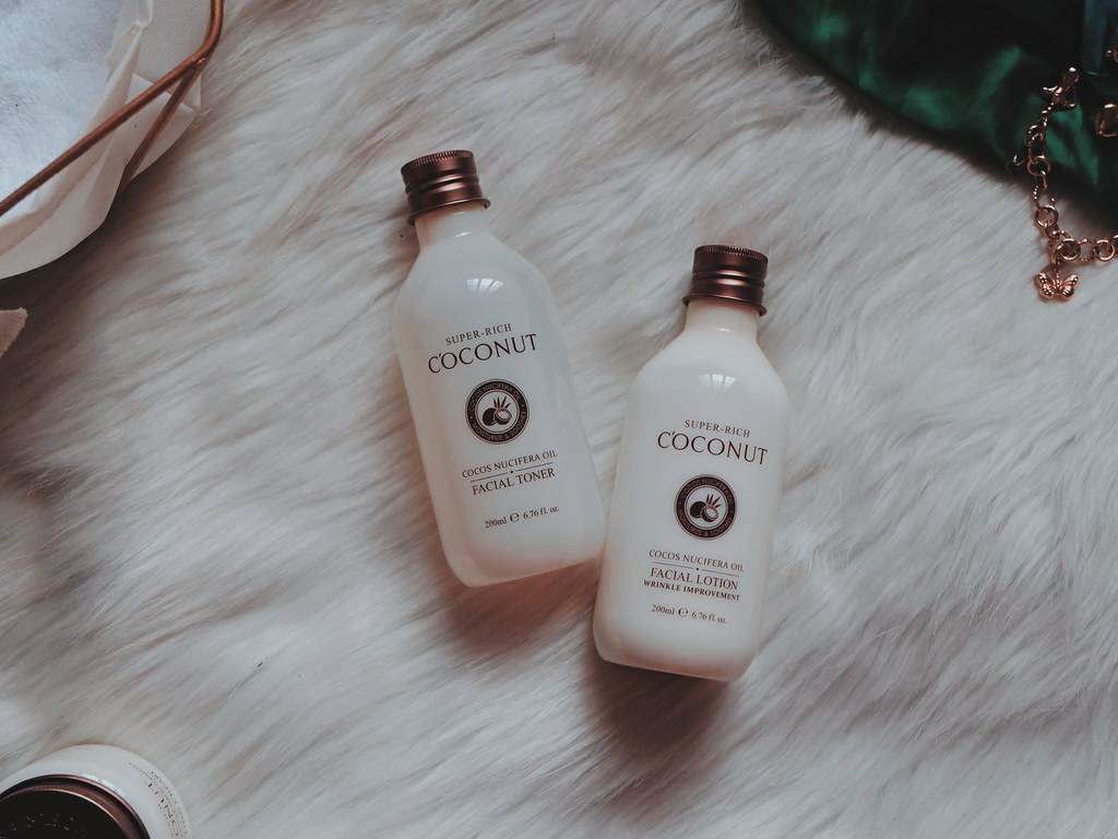 Esfolio Korea Products Review: Super Rich Coconut Facial Toner
