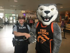 Wolfie being arrested (June 15, 2018)