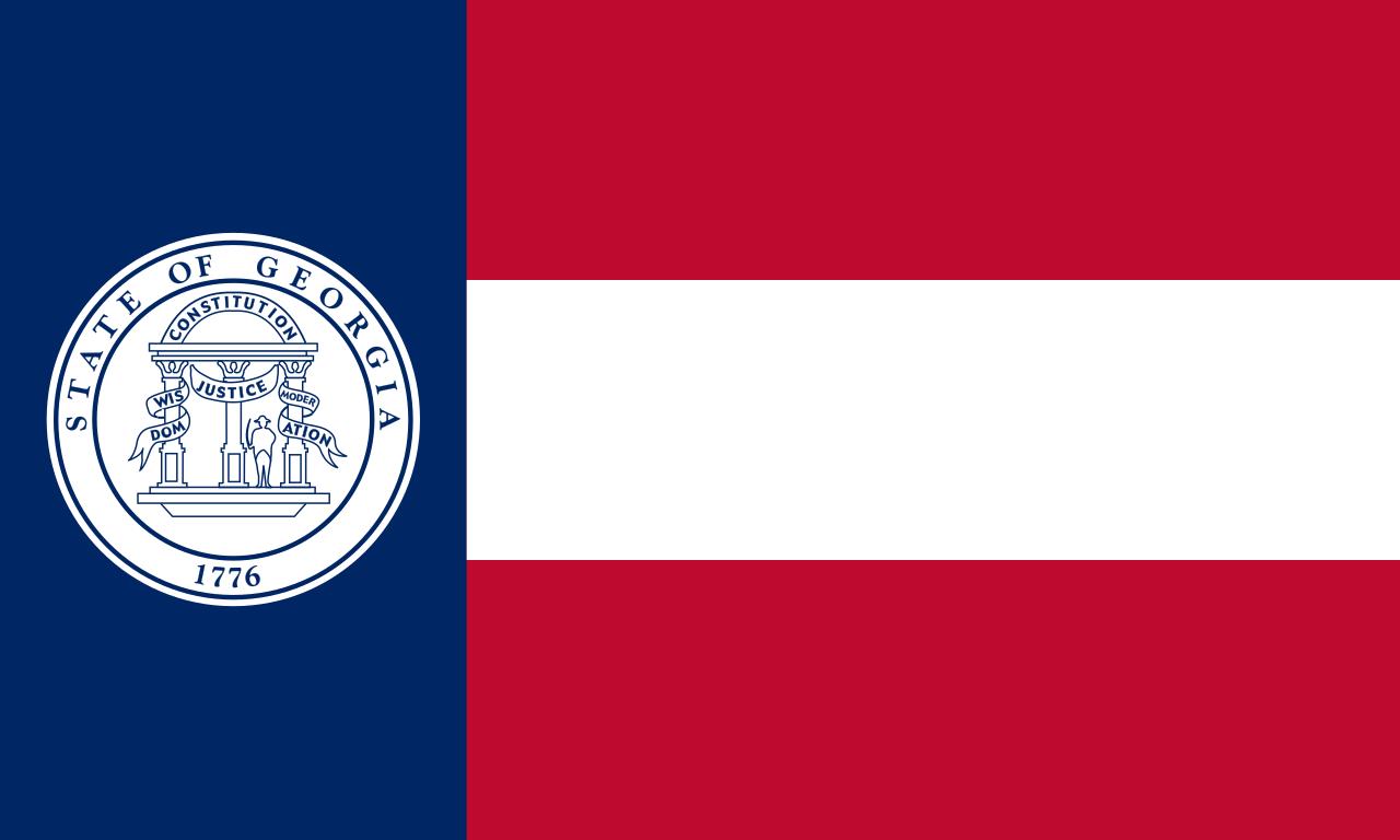 Flag of the State of Georgia 1920-1956