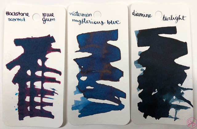 Blackstone Blue Gum Ink Review @AppelboomLaren 4