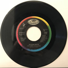 BOOGIE BOYS:I'M COMIN'(RECORD SIDE-B)