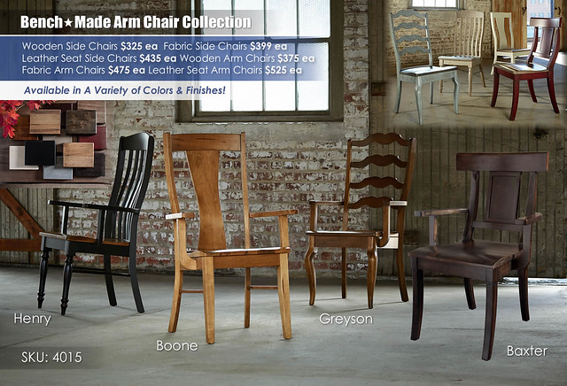 Farm House Bench Made Arm Chair Collection_4015-1000A-BenchMadeChairs3-SP15