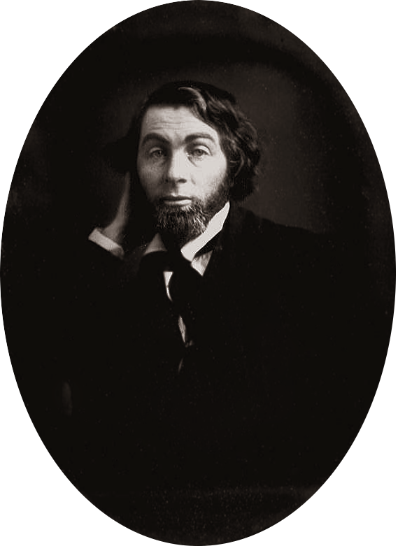 Walt Whitman at age 28, circa February-May 1848 in New Orleans, Louisiana.