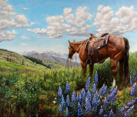 Florida looking at Texas. Artist Jan Clizer
