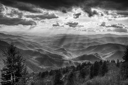 watterrock knob blue ridge parkway north carolina