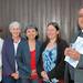 Barbara Kentish, Valerie Flessati, Pat Gaffney, Colette Joyce & Father Fernandes