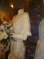 Hettie Tiller wedding gown 1936