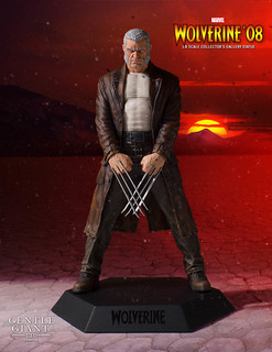 Time Stops For No One. Wolverine '08 Old Man Logan Collector's Gallery Statue