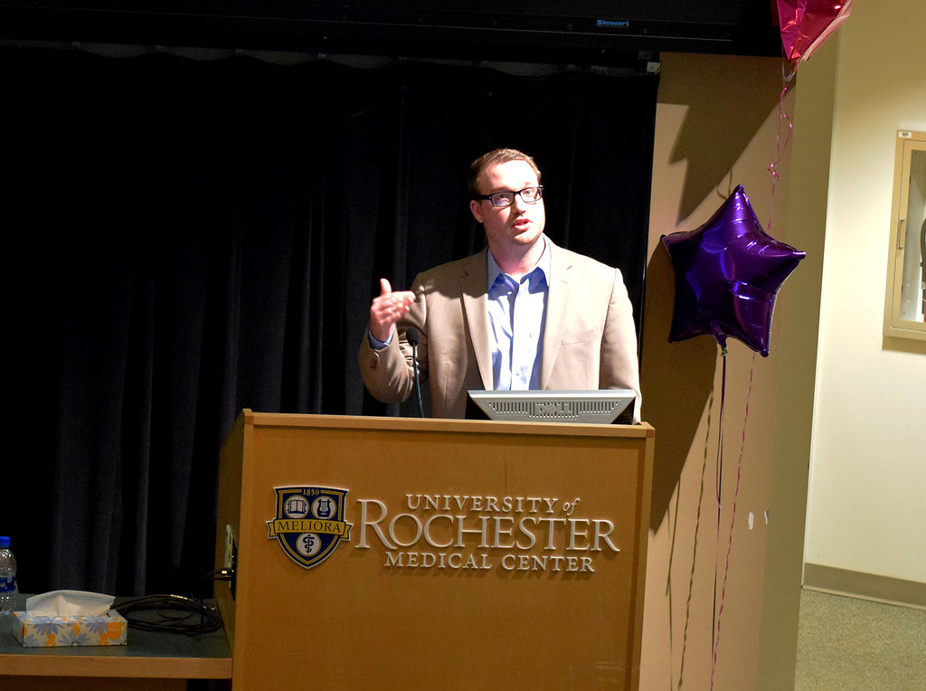 Pathology residents, graduate students, and fellows presented at Research Day 2018 at the University of Rochester Medical Center.