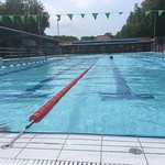 Ready to start 5k swim