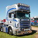 W Barker and Sons Scania 164L P19WBS Peterborough Truckfest 2018