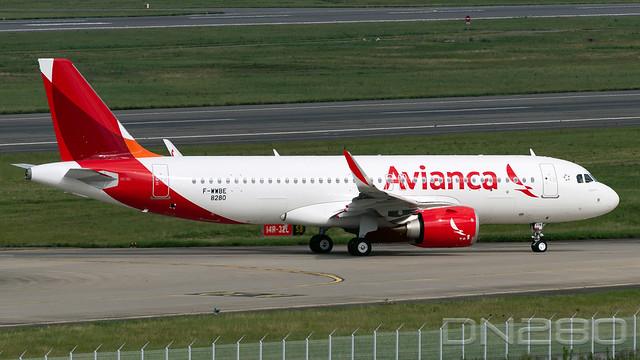 Avianca A320-251N msn 8280
