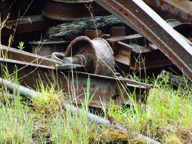 Remnants of Cass sawmill