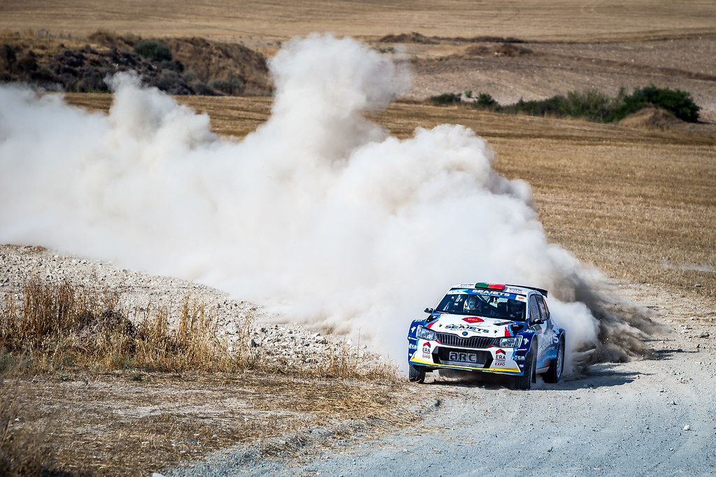 02 MAGALHAES Bruno (PRT), MAGALHAES, Hugo (PRT), BRUNO MIGUEL PINTO MAGALHAES PINHEIRO, SKODA FABIA R5, action during the 2018 European Rally Championship ERC Cyprus Rally,  from june 15 to 17 at Larnaca, Cyprus - Photo Thomas Fenetre / DPPI