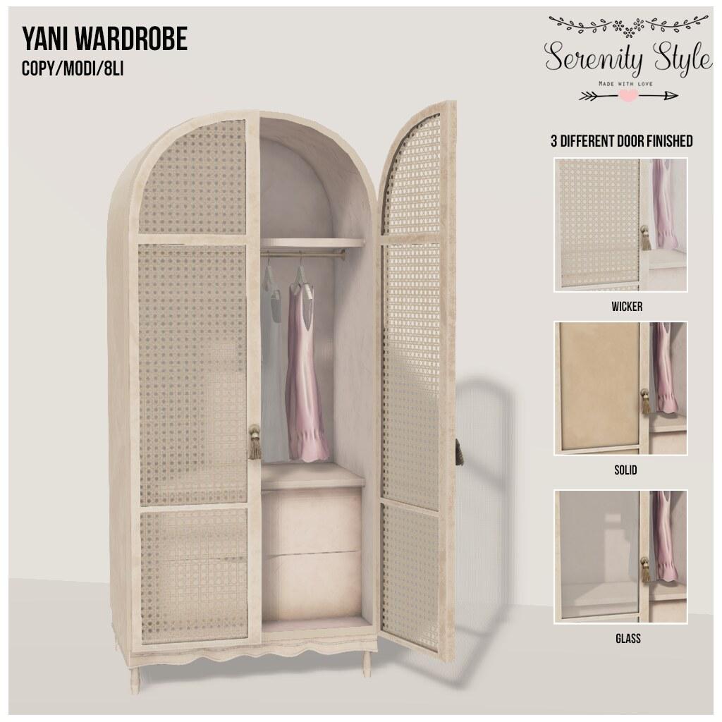 Serenity Style-Yani Wardrobe - TeleportHub.com Live!