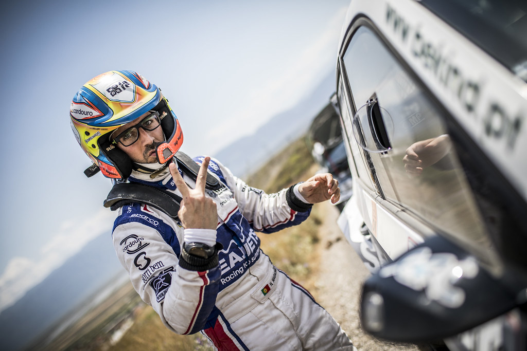 MAGALHAES Hugo (prt), SKODA FABIA R5, portrait during the European Rally Championship 2018 - Acropolis Rally Of Grece, June 1 to 3 at Lamia - Photo Gregory Lenormand / DPPI