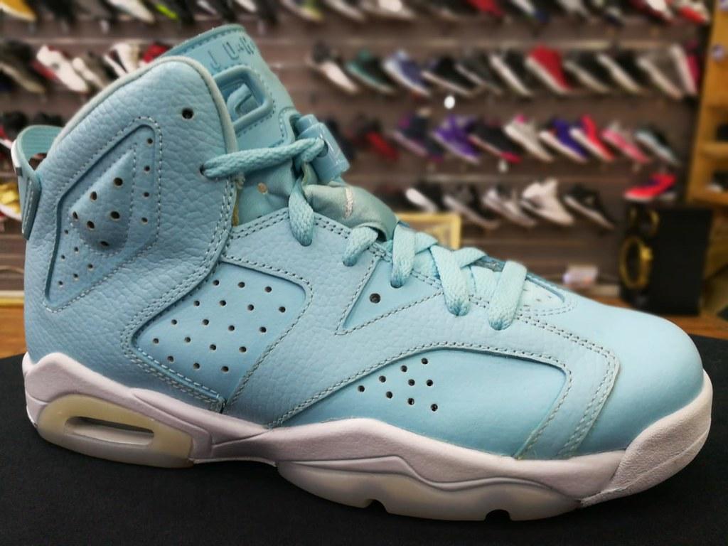 newest e0605 690b0 Air Jordan Retro 6 Pantone Blue talla:6Y/38.5   Avance de te ...