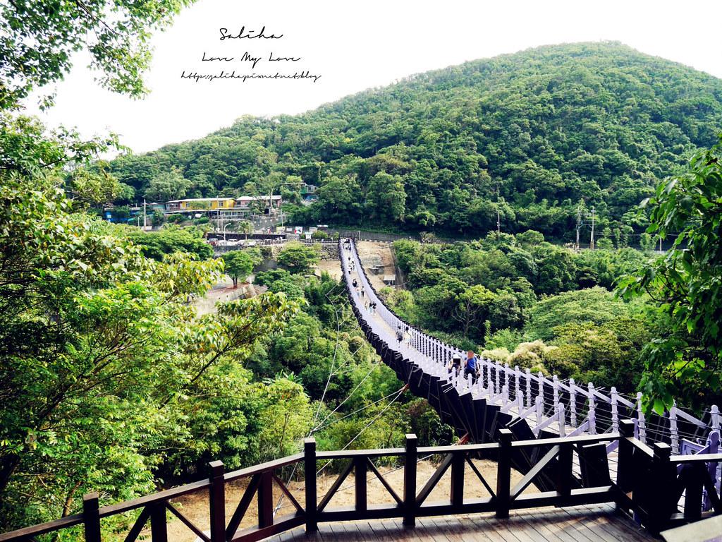 內湖碧山巖景點一日遊推薦同心池吊橋 (23)