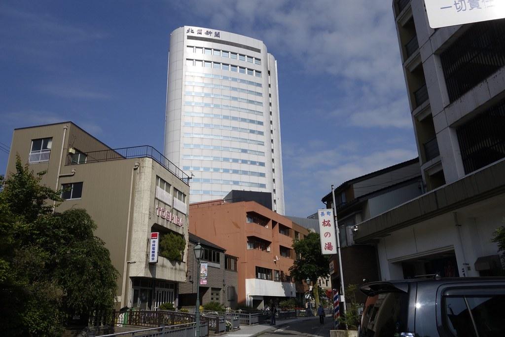 金沢長町、街中に八重のドクダミ発見!