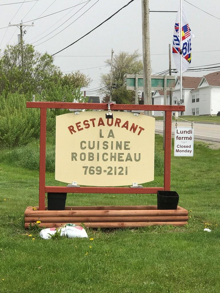 La Cuisine Robicheau Restaurant, Saulnierville, Nova Scotia