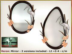 Bliensen - Heron - Mirror