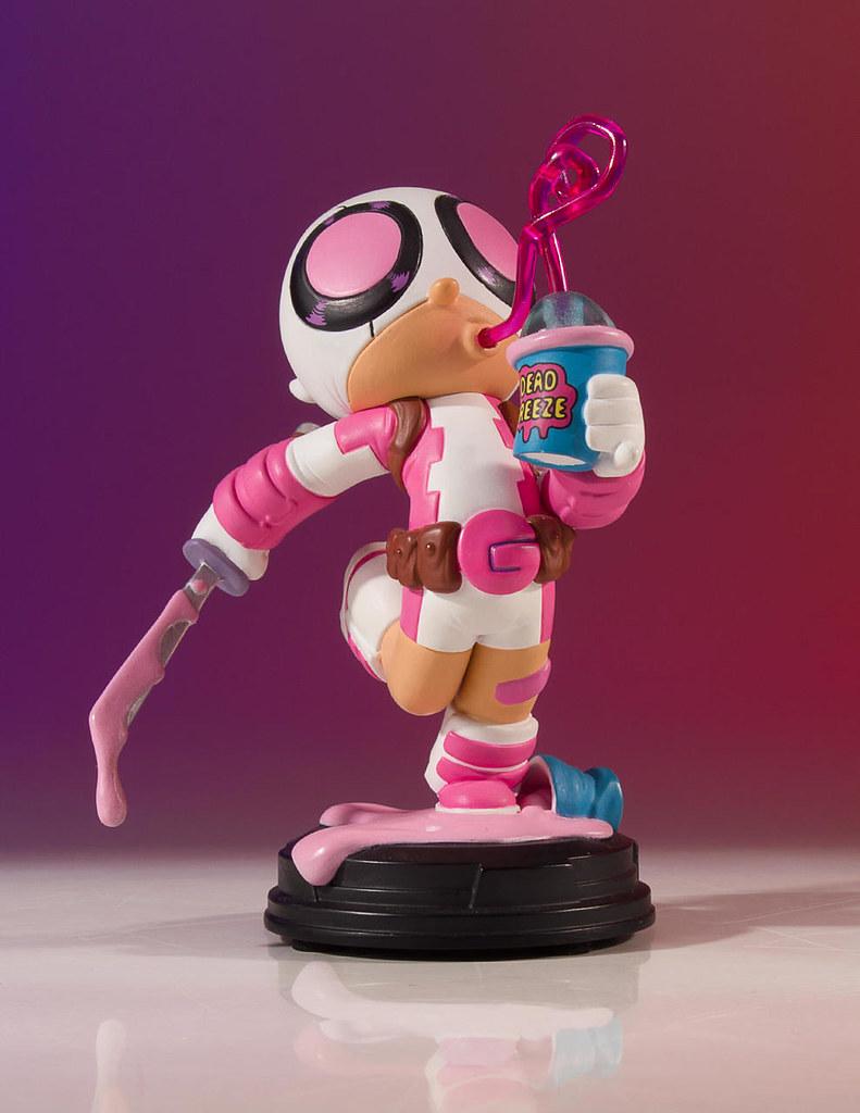 這座雕像有股甜甜的味道~ Gentle Giant Marvel Comics【關侍】Gwenpool Animated Statue