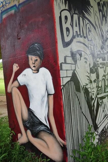 Ocreos ... Graffiti/streetart at Neerpede (Belgium)