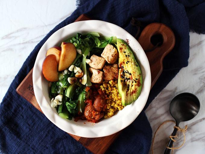簡易素食羅漢齋 vegan-easy-buddha-bowl (3)