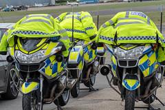 Met bikes at North Weald Airfield