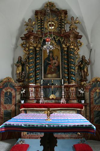 Altar in kleiner Kapelle