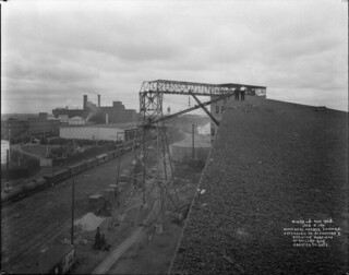 Extension to Elevator No. 3 and gallery, Canadian Vickers Ltd., Port of Montreal, Quebec / Agrandissement de l'ascenseur n° 3 et galerie aérienne , Canadian Vickers Ltd., port de Montréal (Québec)