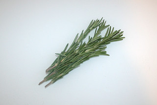 01 - Zutat Rosmarin / Ingredient rosemary