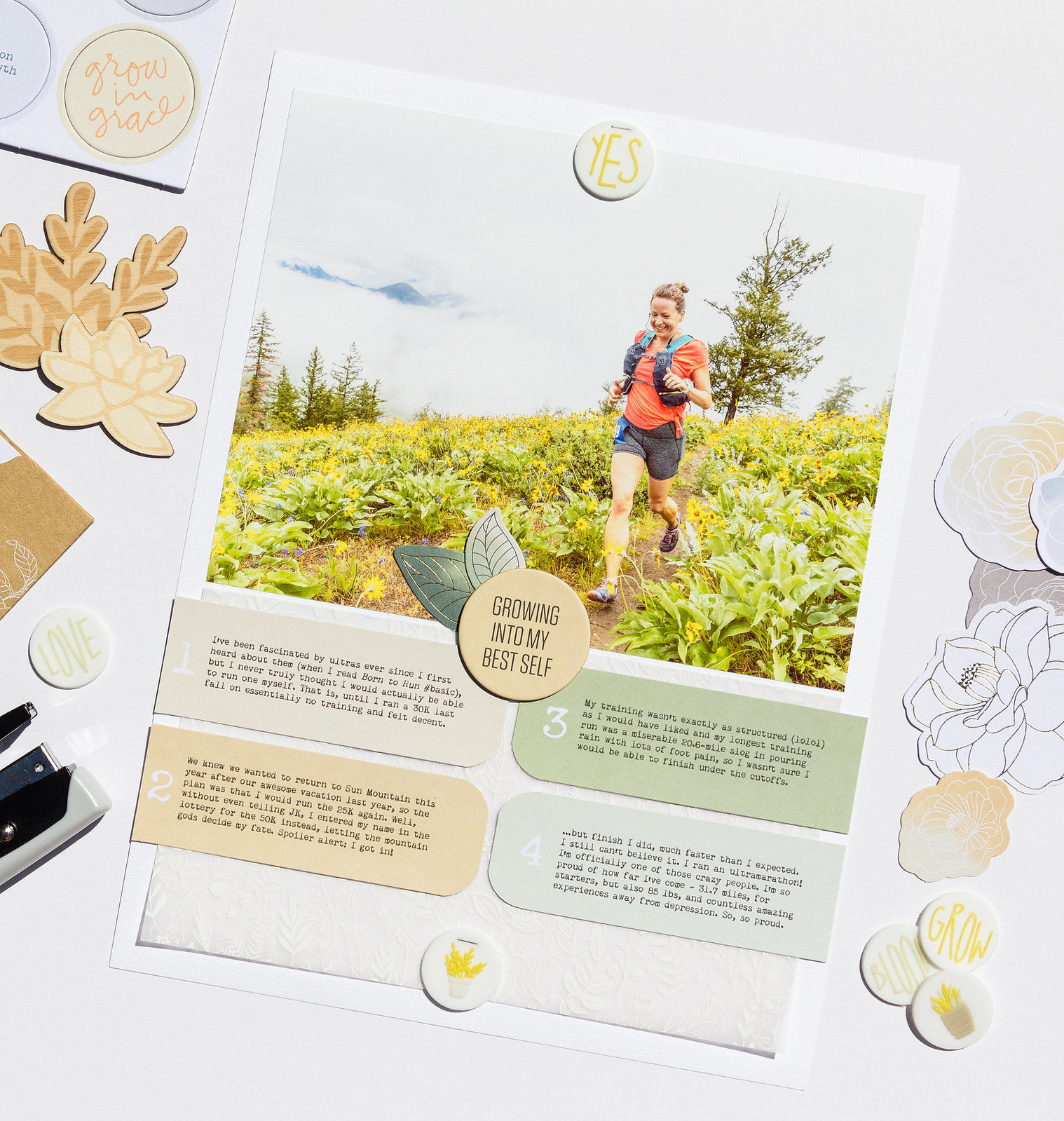 Sun Mountain 50K // Grow Story Kit