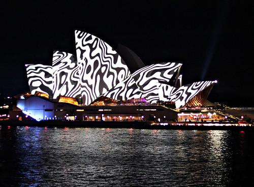 2018 Vivid Sydney: Lighting of the Sails: Metamathemagical #10
